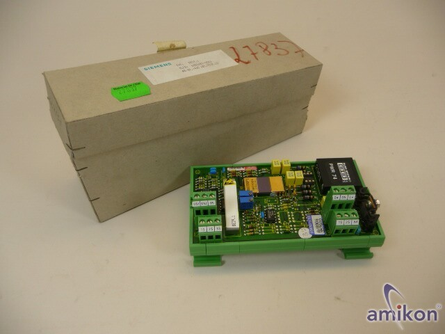 Siemens Simadyn D EB11 6DD1681-0CK1  SE29.1 New Neu
