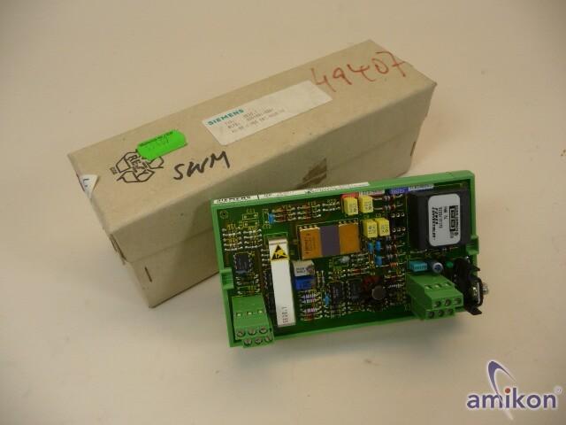 Siemens Simadyn D EB11 6DD1681-0DA1  SE30.1 New Neu