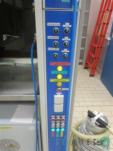 Wesemann / Infalab / Asecos Labor-Abzugsschrank mit 2 Gefahrenschränken – Bild 3