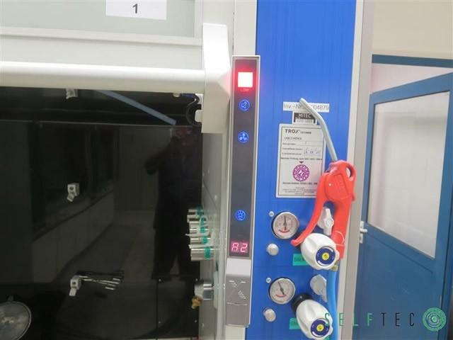Wesemann / Infalab / Asecos Labor-Abzugsschrank mit 2 Gefahrenschränken – Bild 4