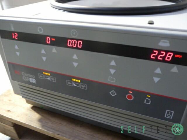 IEC Centra GP8R Kühlzentrifuge Zentrifuge – Bild 3