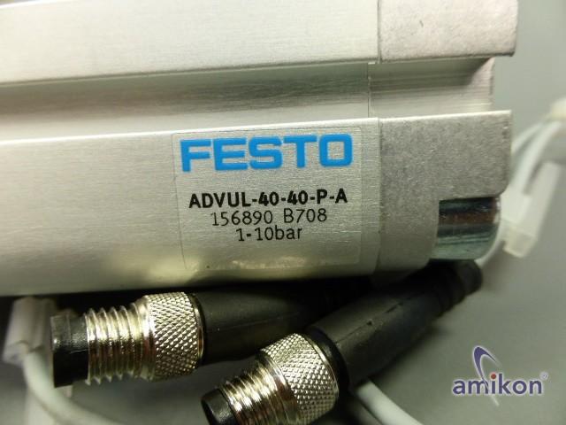 Festo Kompaktzylinder ADVUL-40-40-P-A 156890  Hover