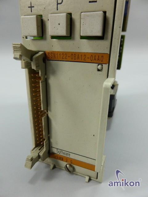 Siemens Simodrive 611-A Regelungseinschub 6SN1122-0BA12-0AA0 Software AMM V2.0  Hover