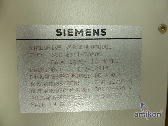 Siemens Simodrive 611 Vorschubmodul 6SC6111-2AA00  Hover