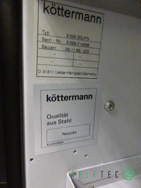 Posten Köttermann Laborabzüge 2-418 N mit Gefahrenstoff-Unterbauschrank 3-529-SGJFN – Bild 3