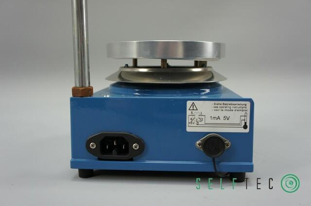 IKA-Combitherm HCT Heizplatte 600 Watt 350°C mit Stativstab – Bild 4