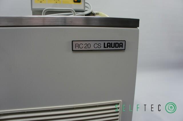 Lauda RC 20 CS Kryostat Compact-Kältethermostat – Bild 2