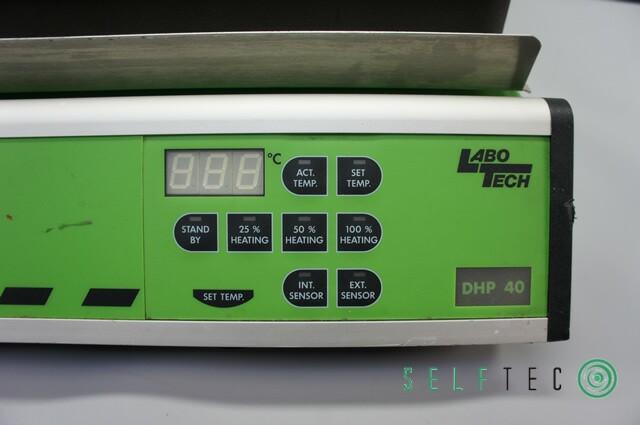 LaboTech Heizplatte DHP 40 digitale Steuerung – Bild 2