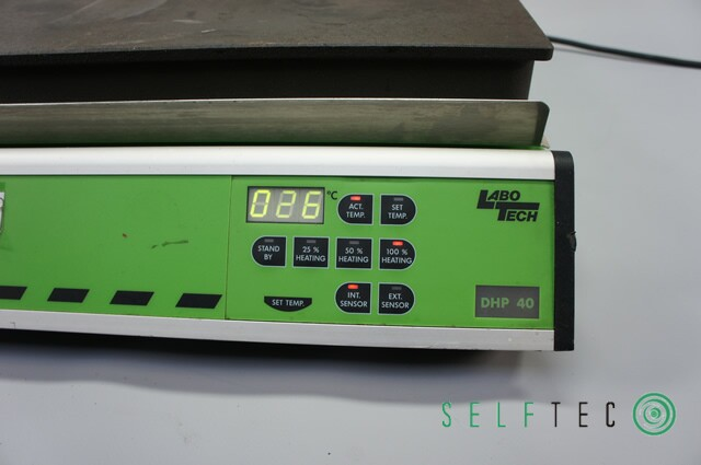 LaboTech Heizplatte DHP 40 digitale Steuerung – Bild 3