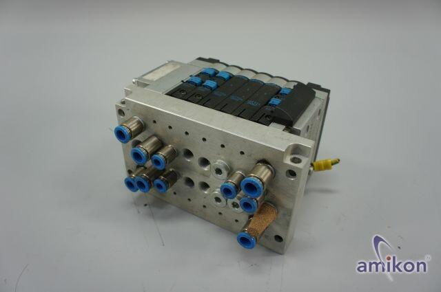 Festo Ventilinsel CPV 14 18210 mit Elektrik-Anschaltung 18261  Hover