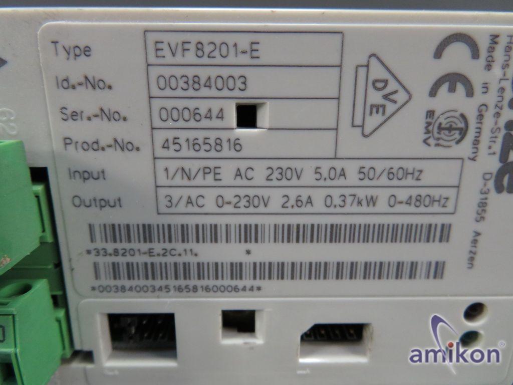 Lenze Frequenzumrichter Inverter EVF8201-E EVF 8201-E  Hover