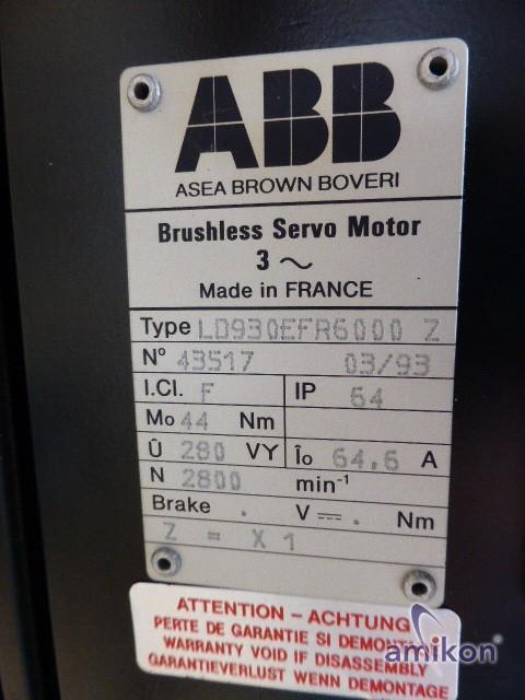 ABB Brushless Servo Motor LD930EFR6000  Hover