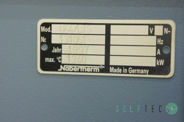 Nabertherm Anlassofen Ofen N64/LTS Tmax: 1340 °C – Bild 6