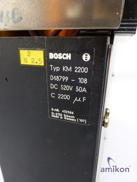 Bosch Kondensatormodul KM 2200-T 048799-108  Hover