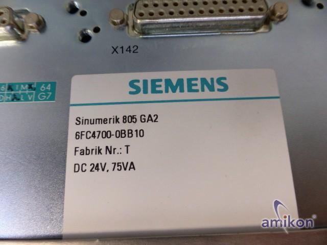 Siemens Sinumerik Zentralggerät Streckensteuerung 6FC4100-1AA00-Z 6FC4100-1AA00  Hover