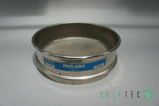 Prolabo Afnor Inox Analysensieb Prüfsieb 315 µm Maschenweite Durchmesser 20cm – Bild 1