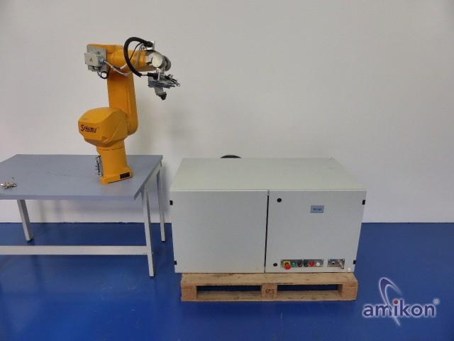 Stäubli Roboter RX 60 L mit Steuerung u. Handbedienteil