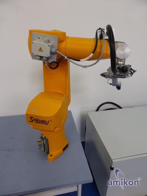 Stäubli Roboter RX 60 L mit Steuerung u. Handbedienteil  Hover