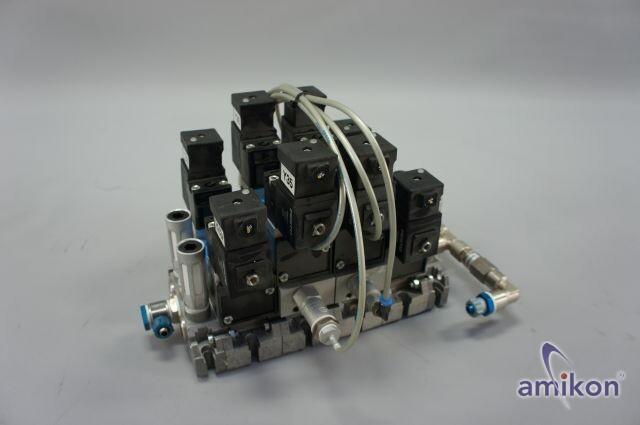 Festo Ventilinsel Magnetventil JMN1H-5/2-D-1-C 159690 MSN1G-24V 123060