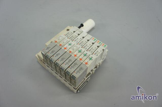 SMC Ventilinsel Magnetventil SV1100-5FUD SV1200-5FUD SV1A00-5FUD