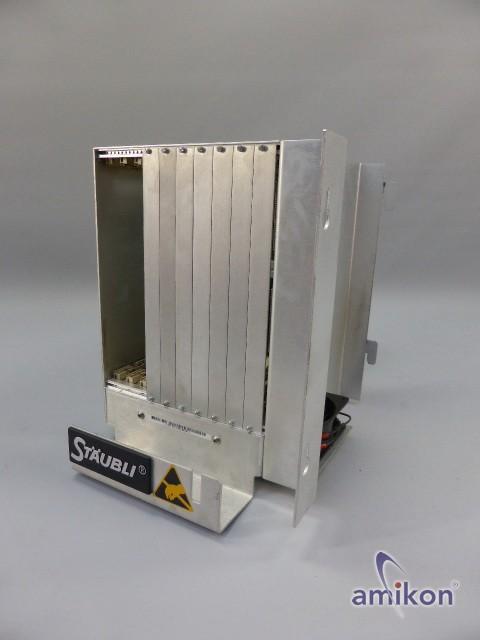Stäubli Einbau Rack mit Stromversorgung und Lüftermodul OEM S/N 3403-90138