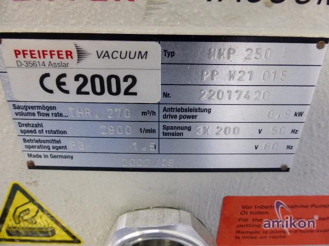 Pfeiffer Leistungsstarke Wälzkolbenpumpe PP W21 015 WKP 250 A  Hover