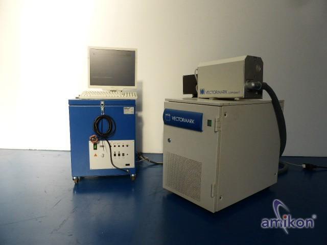 Trumpf Vectormark Laserbeschrifter VMc2 mit Fuchs Absaug- und Filtergeräte TKFD