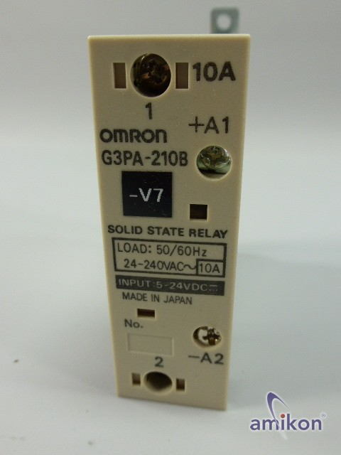 Omron Halbleiterrelais G3PA-210B  Hover