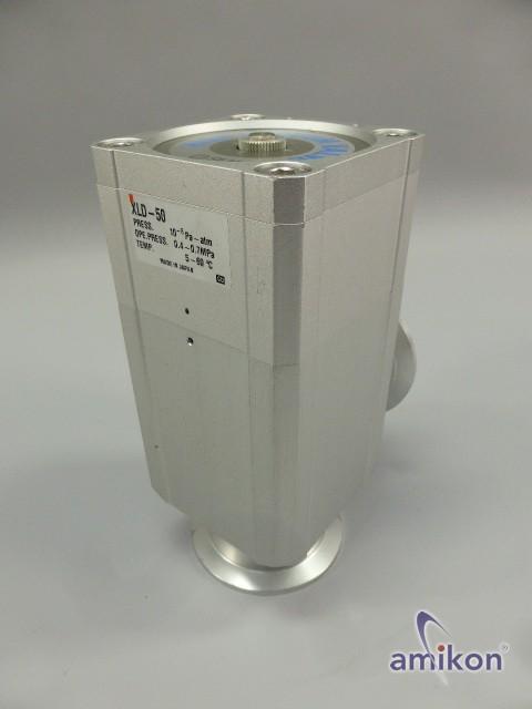 SMC Hochvakuum-Eckventil, Pneumatik XLD-50