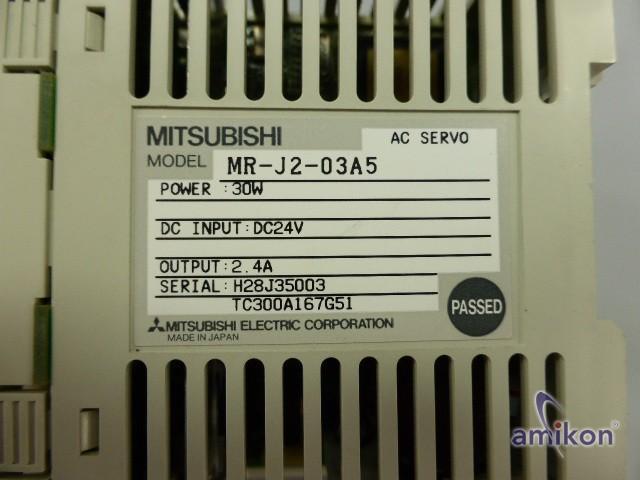 Mitsubishi AC Servoverstärker MR-J2-03A5  Hover