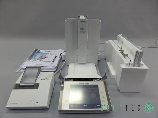 Mettler Toledo Analysenwaage XP205DR DeltaRange RS-P42 Printer Care Pac S – Bild 1