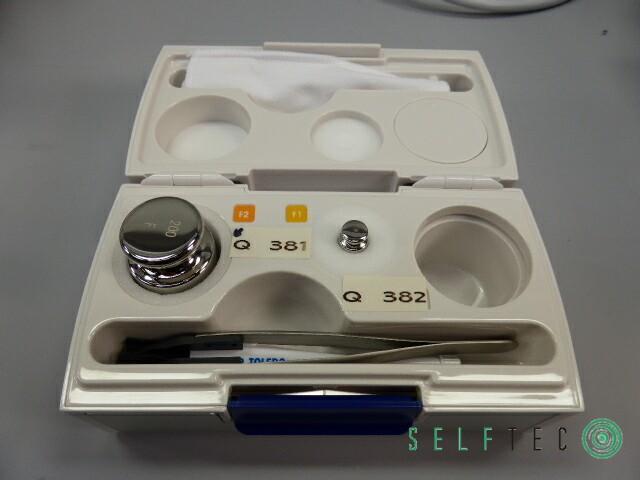 Mettler Toledo Analysenwaage XP205DR DeltaRange RS-P42 Printer Care Pac S – Bild 10