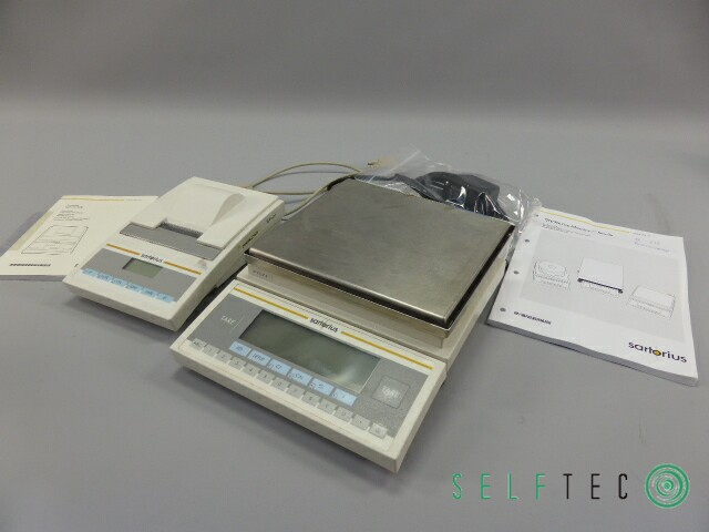 Sartorius elektronische Präzisionswaage LP2200P mit Messwertdrucker YDP03-0CE – Bild 1