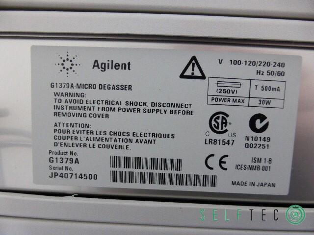 Agilent 1100 Series HPLC System G1311A G1313A G1315A G1316A G1379A – Bild 6