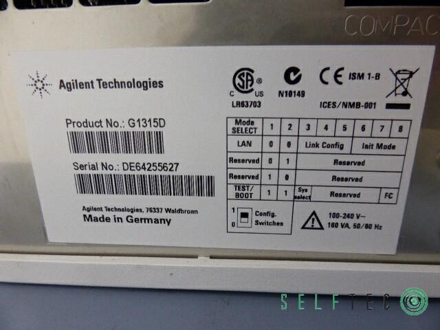 Agilent 1100 1200 Series HPLC System G1311A G1313A G1315D G1316A G1379A – Bild 10