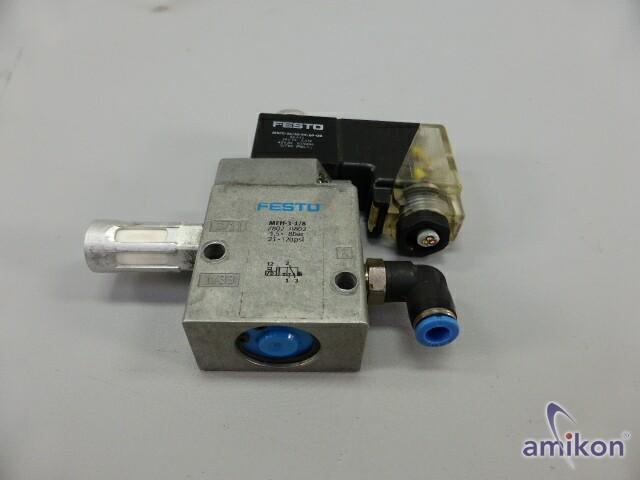 Festo Magnetventil MFH-3-1/8 7802 mit Magnetspule