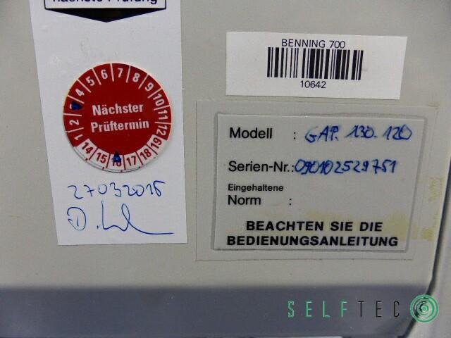 Asecos Gefahrstoffschrank Absaugung GAP 130.120 – Bild 7