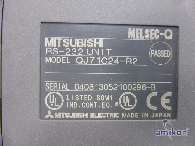 Mitsubishi MELSEC-Q RS-232 Module QJ71C24-R2  Hover