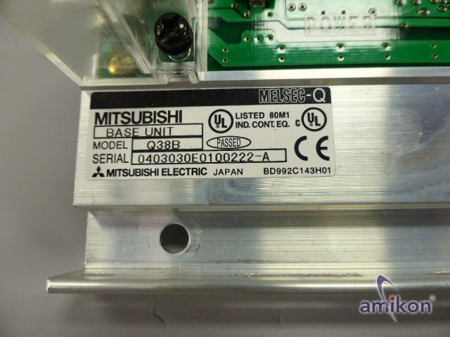 Mitsubishi Melsec-Q Base Modul Q38B  Hover