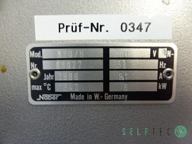 Nabertherm Anlassofen Ofen N 20/H Tmax: 1340 °C Voltcraft Multi-Thermometer – Bild 8