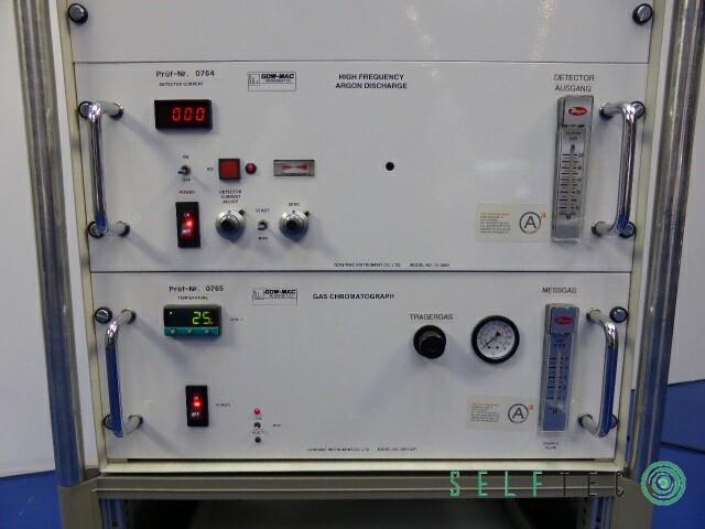 GOW-MAC Trace Gas Analyser System GM 100 HF-ADD – Bild 3