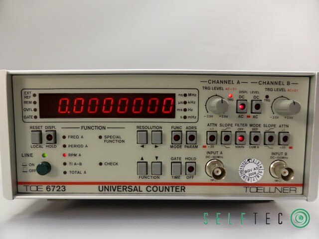 Toellner Universal Counter Frequenzzähler TOE 6723 – Bild 2