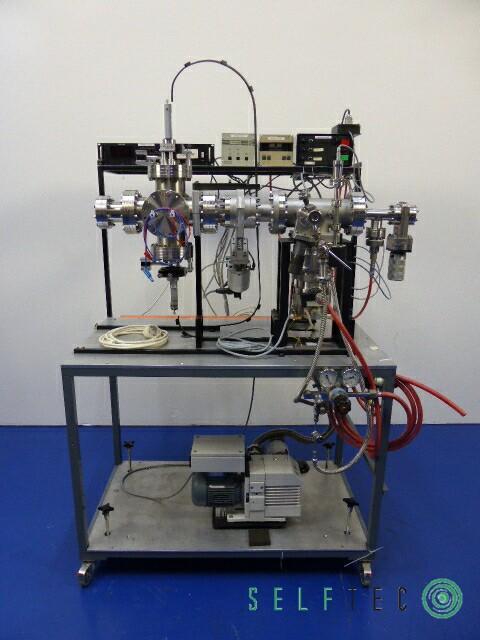 Vakuum Teststation Pumpstation Pfeiffer Leybold TRIVAC D4B TPU-240 – Bild 2