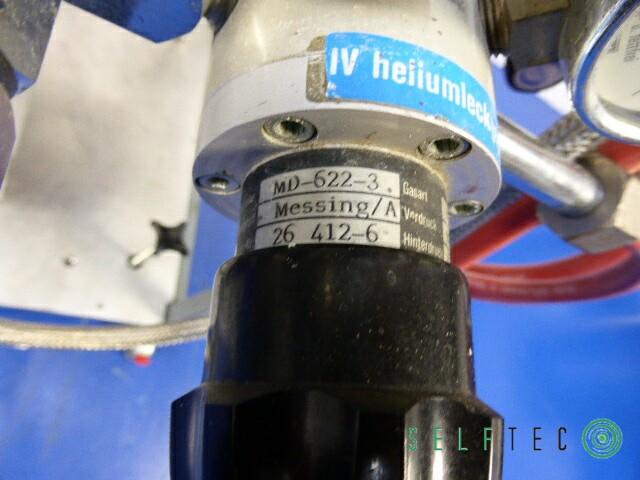 Vakuum Teststation Pumpstation Pfeiffer Leybold TRIVAC D4B TPU-240 – Bild 10