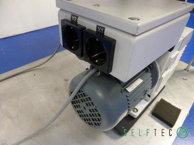 Vakuum Teststation Pumpstation Pfeiffer Leybold TRIVAC D4B TPU-240 – Bild 12