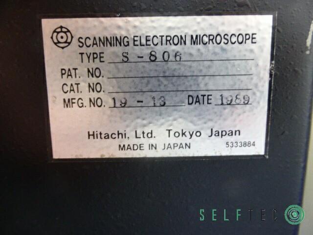 Hitachi Scanning Electron Microscope S-806 Elektronenmikroskop – Bild 8