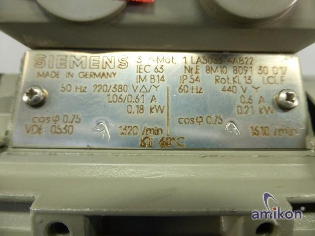 Siemens Niederspannungmotor 1LA5063-4AB22  Hover