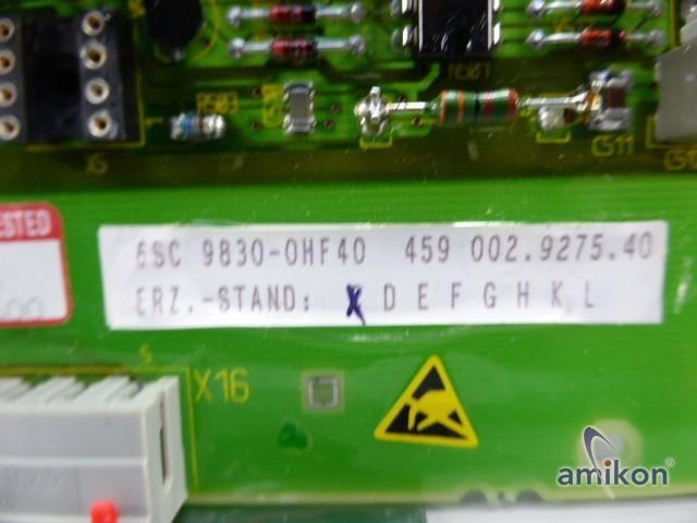 Siemens Simodrive Anpassbaugruppe 6SC9830-0HF40  Hover