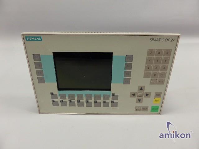 Simens Simatic OP27 Mono 6AV3627-1JK00-0AX0 627-1JK00-0AX0 E-Stand: A02  Hover