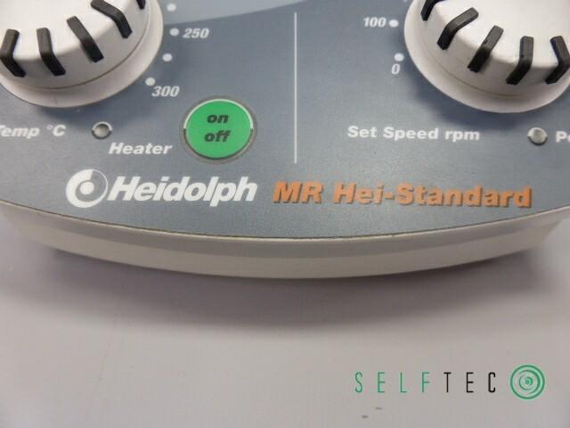 Heidolph Magnetrührer MR Hei-Standard mit Halterung für Temperaturfühler – Bild 5